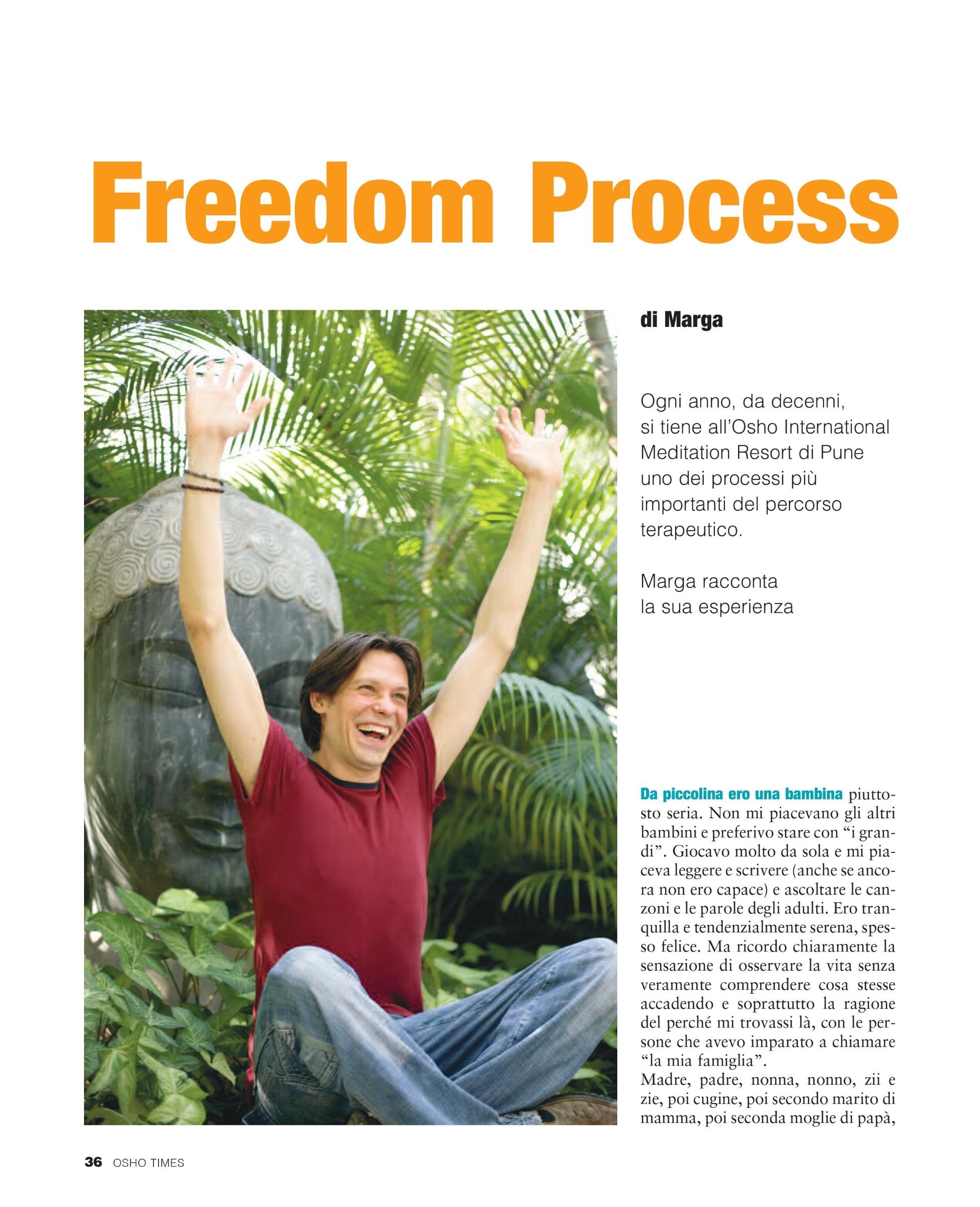 Marga - AFH - The OSHO Freedom Process 1